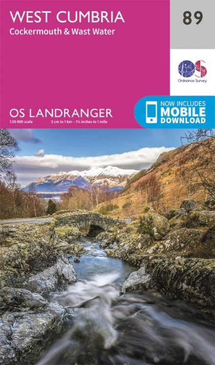 OS Landranger 89 West Cumbria